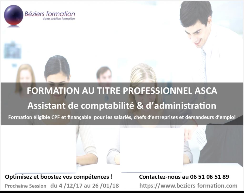 Béziers Formation comptabilité